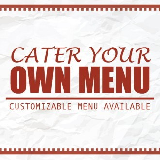 Customize Your Menu